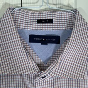 Tommy Hilfiger Slim Fit Stripes Dress Shirt